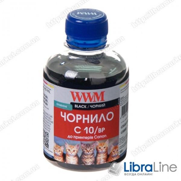 Чернила CANON PG510 / 512 / PGI520Bk / PGI425PGBk Black Pigmented C10/BP WWM 200г G220731