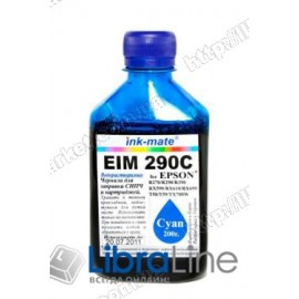 Чернила EPSON Stylus Photo R270 / 290 / 390 / RX610 EIM 290 Cyan Ink-Mate 200г.