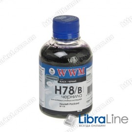 G225181 Чернила HP CB316HE / 321HE Black H78/B WWM Ink