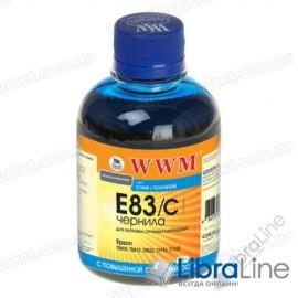 Чернила EPSON Stylus Photo P50 / R270 / R290 / RX615 / T50 / TX650 Cyan E83/C WWM 200г G224121