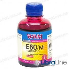 Чернила EPSON L800 банка Light Magenta WWM E80/LM 200г G224711