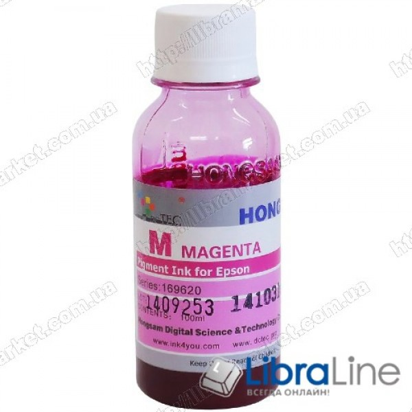 Чернила EPSON DCTec DC-T50M/100 Magenta 100мл
