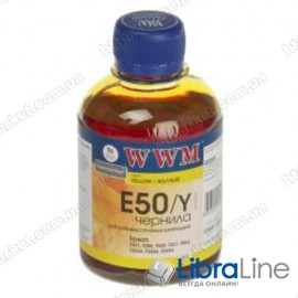 G222931 Чернила EPSON Stylus Photo Universal Yellow  E50/Y WWM 200г