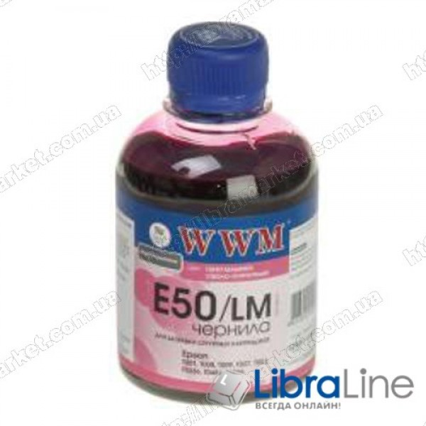 Чернила EPSON Stylus Photo Universal Light Magenta E50/LM WWM 200г G222951