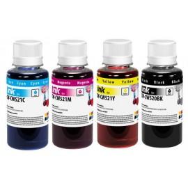 Комплект чернил CANON PG-510/CLI-521 (4x100ml) BK/C/M/Y 45919 CW-CW520/CW521SET01 ColorWay