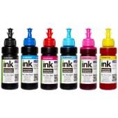 Комплект чернил ColorWay для Epson EW810 BK/C/LC/LM/M/Y Dye-based 6 x 100 ml (CW-EW810SET01)