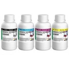 Комплект чернил ColorWay Epson T26/T27/C79/C67/S22/CX3500/SX420 4по200мл BK/C/M/Y 51231 CW-EW400SET02