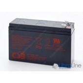 Аккумуляторная батарея ИБП CSB 12V6AH 151*94*51mm,  HR1224W