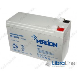 Аккумуляторная батарея ИБП Merlion GP1290F2 12V9Ah (151x65x101)