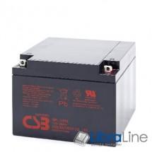 Аккумуляторная батарея CSB 12V26AH 181*76.2*167mm
