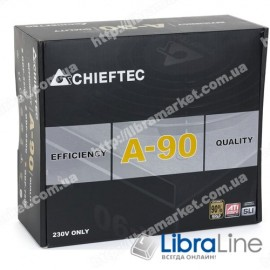 Блок питания CHIEFTEC RETAIL A-90 GDP-650C,14cm fan,24+8,3xPeripheral,6xSATA,2xPCIe,modular GDP-650C