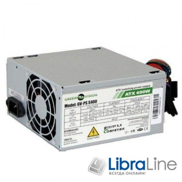 Блок питания GAMEMAX 400W GM-400 80мм