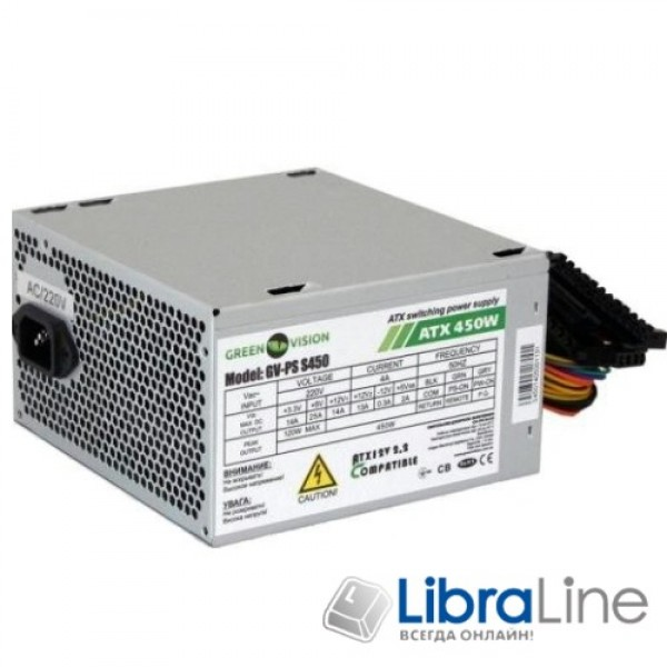 Блок питания GAMEMAX 450W GM-450 120mm