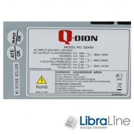 Блок питания FSP Qdion 450W QD450 120mm