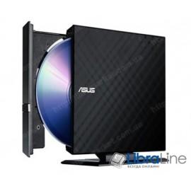 Оптический привод ASUS SDRW-08D2S-U LITE DVD+- R/RW USB2.0 EXT Ret Slim Black