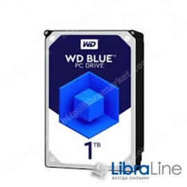 Винчестер, жесткий диск 3.5 SATA-3 1Tb Western Digital 5400rpm, 64MB WD10EZRZ