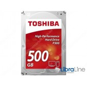 "HDWD105UZSVA  Жесткий диск, винчестер  3.5"" SATA-3 500Gb Toshiba 7200 rpm, 64Mb"