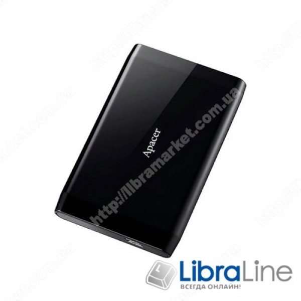 Винчестер USB 3.1 Apacer AC235 1Tb black AP1TBAC235B-1