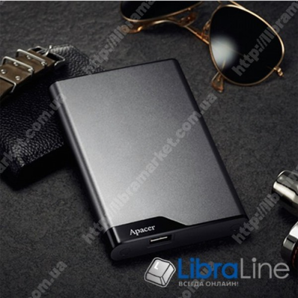 Жесткий диск Apacer AC632 2TB 5400rpm 8MB USB 3.1 External Silver AP2TBAC632A-1