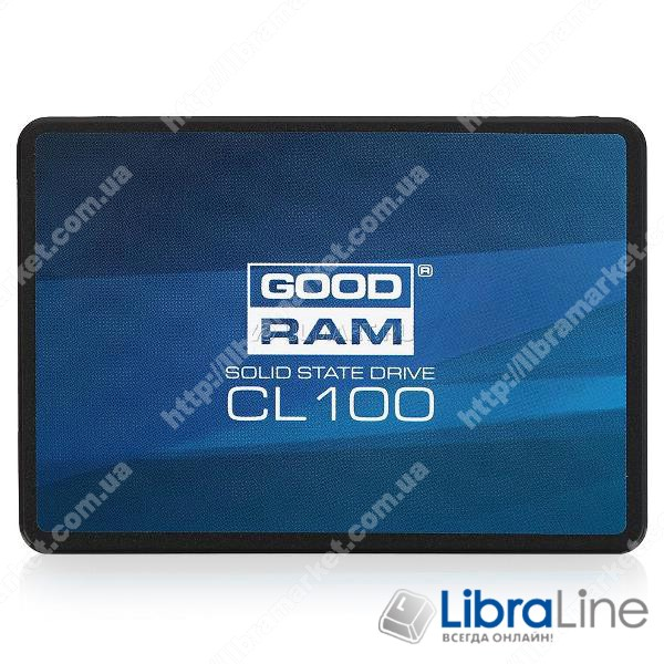 SSD жесткий диск SATA-3 120Gb Goodram SSDPR-CL100-120
