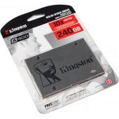 "SA400S37/240G Жесткий диск, винчестер  SSD 2.5"" SATA-3 240Gb Kingston"