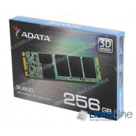 SSD жесткий диск 2.5 SATA-3 SU800 256Gb A-Data ASU800NS38-256GT-C