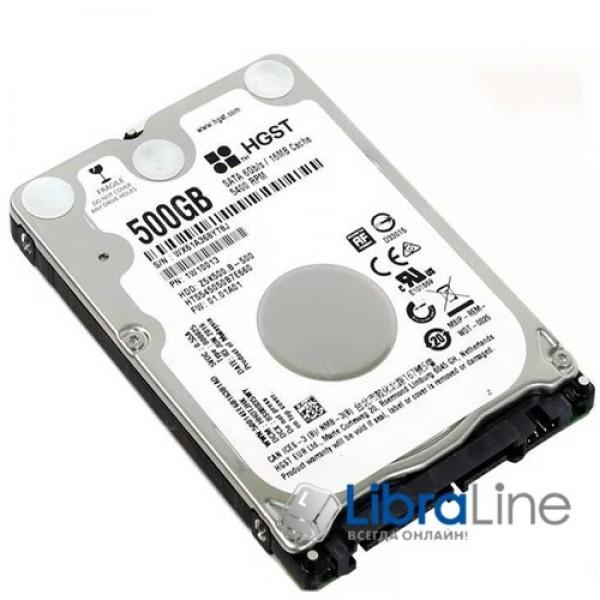 Жорсткий диск, вінчестер SATA-3 Travelstar Z5K500.B 500Gb Hitachi 5400rpm 16M HTS545050B7E660 1W10013