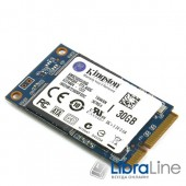 SSD жесткий диск mSATA SATA-3 30Gb Kingston SMS200S3/30G