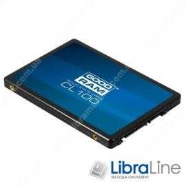 SSD жесткий диск 2.5 SATA-3 240Gb Goodram SSDPR-CL100-240
