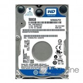 Жесткий диск, винчестер  SATA-3 500Gb Western Digital 5400rpm 16Mb WD5000LPCX