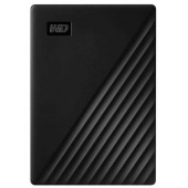 "Внешний жесткий диск WD 1TB 2.5"" USB 3.2 Gen 1 My Passport Black  WDBYVG0010BBK-WESN"