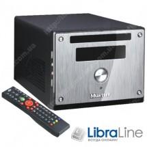 Корпус mini-ITX Codegen MX-31-A11 Silver-black, 350W, ДУ+картридер