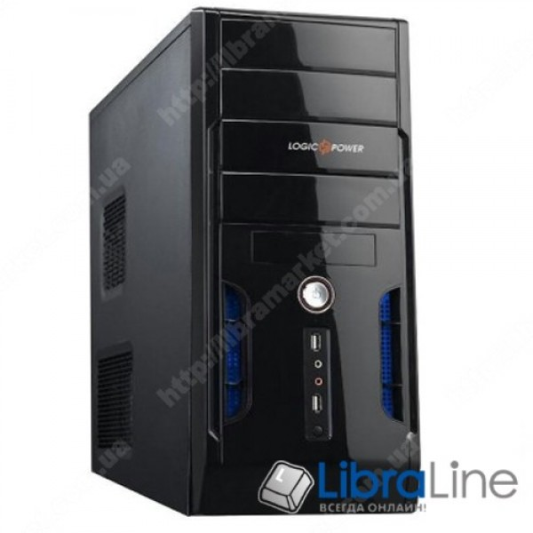 Корпус ATX Logicpower 0050 black, без БП