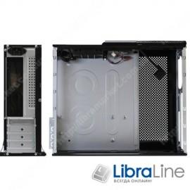 Корпус mITX Logicpower S605BK black, 400W
