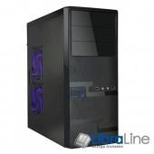 Корпус ATX Delux DLC-MD215 black без б/п