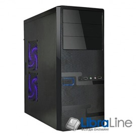 Корпус ATX Delux DLC-MD215 black без б/п