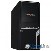 Корпус  ATX Logicpower 0017 black, 450W