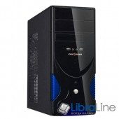 Корпус ATX Logicpower 0106 black, 400W