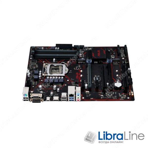 Материнская плата 1151 Asus PRIME B250-PLUS B250 / 4*DDR4 / HDMI-DVI-VGA / ATX