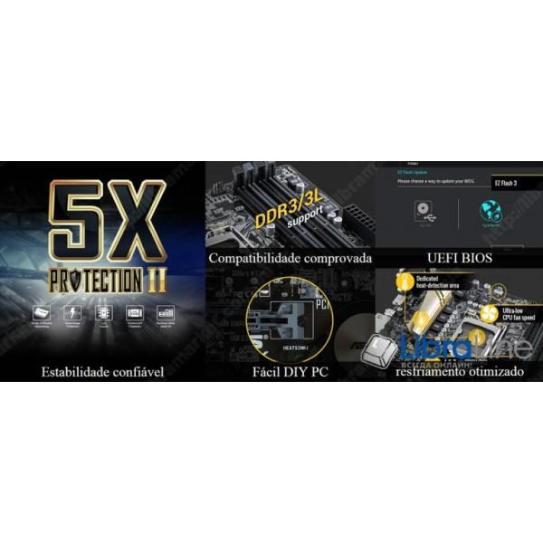 Материнская плата 1151 Asus H110M-CS H110 / 2*DDR4 / uATX / bulk