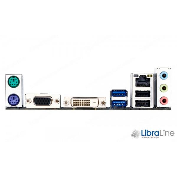 Материнская плата 1150 Gigabyte GA-H81M-S2PV H81 / 2*DDR3 / VGA, DVI, COM, LPT / mATX