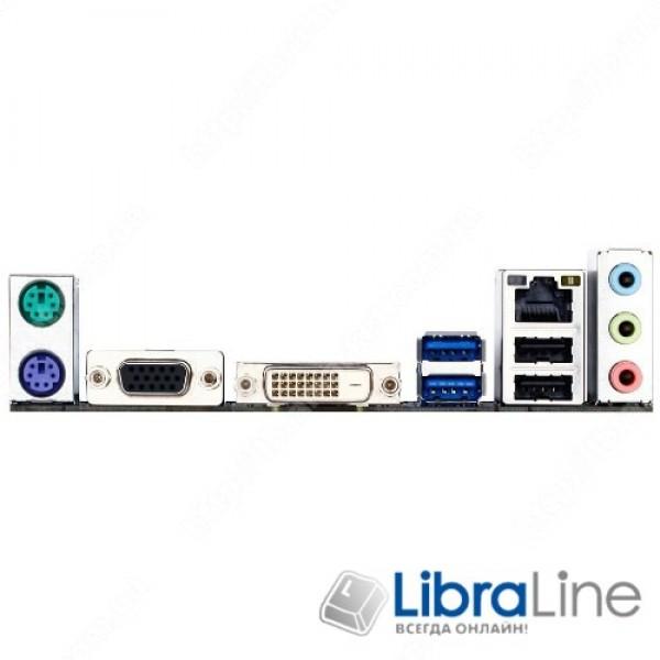 Материнская плата S1150 Gigabyte GA-H81M-S2V H81 / DDR3 1600 / Gigabit LAN / Realtek  ALC887 / mATX