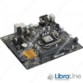 Материнская плата 1151 Asus H110M-R / C / SI   H110 / 2*DDR4 / HDMI-DVI-VGA / mATX