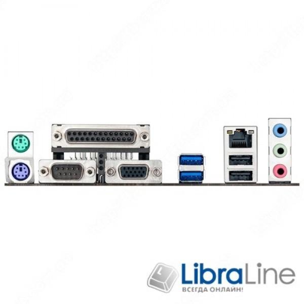 Материнская плата 1150 Asus H81-PLUS Intel H81 / DDR3-1600MHz*2 / SATA*2 / SATA3*2 / GLan / 7.1/ATX