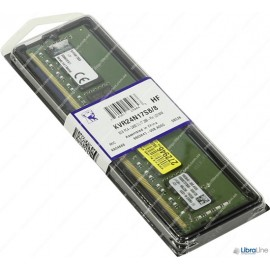 KVR24N17S8/8 Модуль памяти DDR-4 8Gb PC4-19200 2400Mhz Kingston