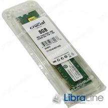 Модуль памяти DDR-3 8Gb PC3-12800 1600MHz Crucial CT102464BD160B