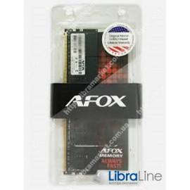 Модуль памяти DDR-4 8Gb PC4-17000  2133MHz AFOX AFLD48VK1P
