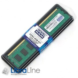 Модуль памяти DDR-3 4Gb PC3-12800 1600MHz Goodram GR1600D364L11/4G