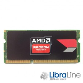 Модуль памяти SO-DIMM DDR-3 4Gb PC3-12800 1600MHz AMD R534G1601S1SL-U