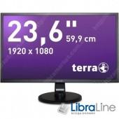 "Монітор 23,6"" Terra 2447W black"